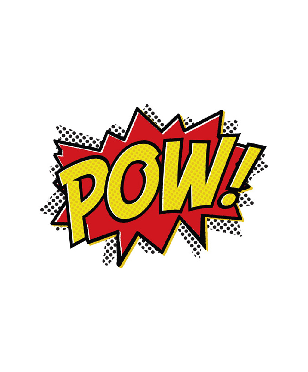 Free Comic Book Day Logo: Pow Wow Clipart