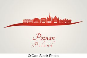 Poznan skyline Clip Art and Stock Illustrations. 9 Poznan skyline.