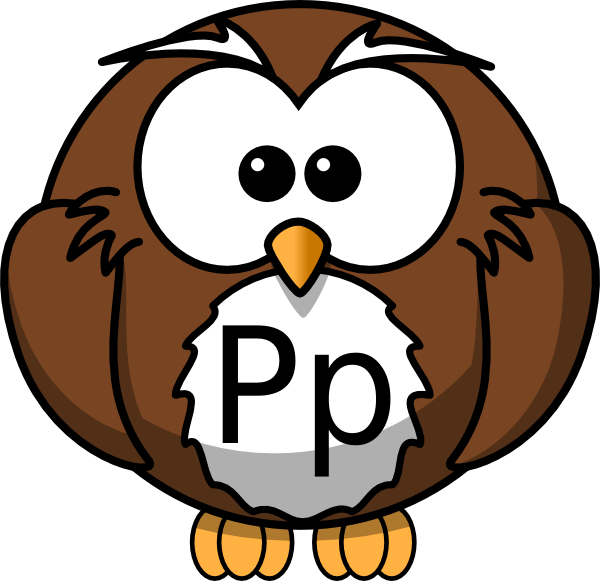 Pp Owl Clip Art at Clker.com.