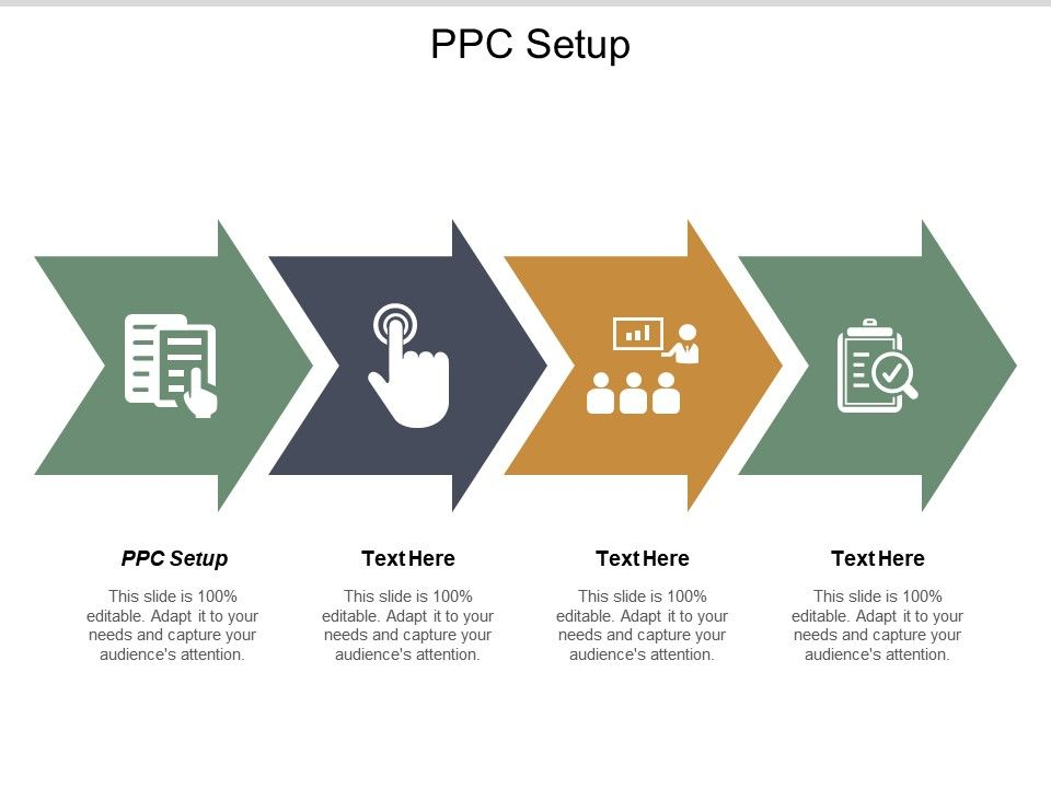 Ppc Setup Ppt Powerpoint Presentation Gallery Professional.