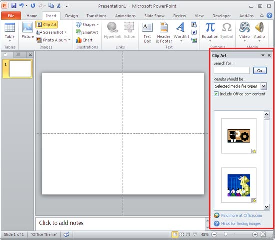 Clipart In Powerpoint 2013 & Look At Clip Art Images.