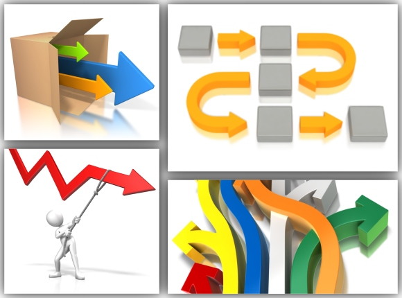 PowerPoint Arrow Templates And Clipart For Presentations.