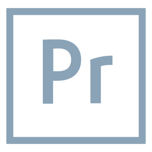 Premiere pro pr icon.