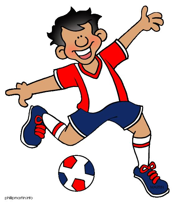 Playing Sports Clipart.