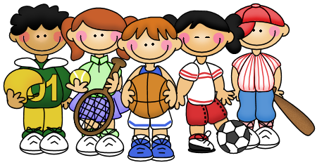 Kids Sports Clipart Png.