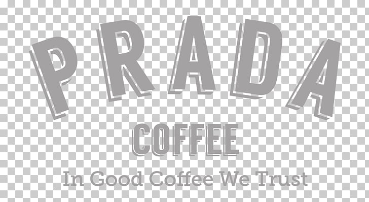 Ruang Tengah Work Space Prada Coffee Logo Brand, prada logo.