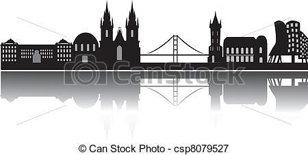 Praha Clip Art Vector Graphics. 138 Praha EPS clipart vector and.