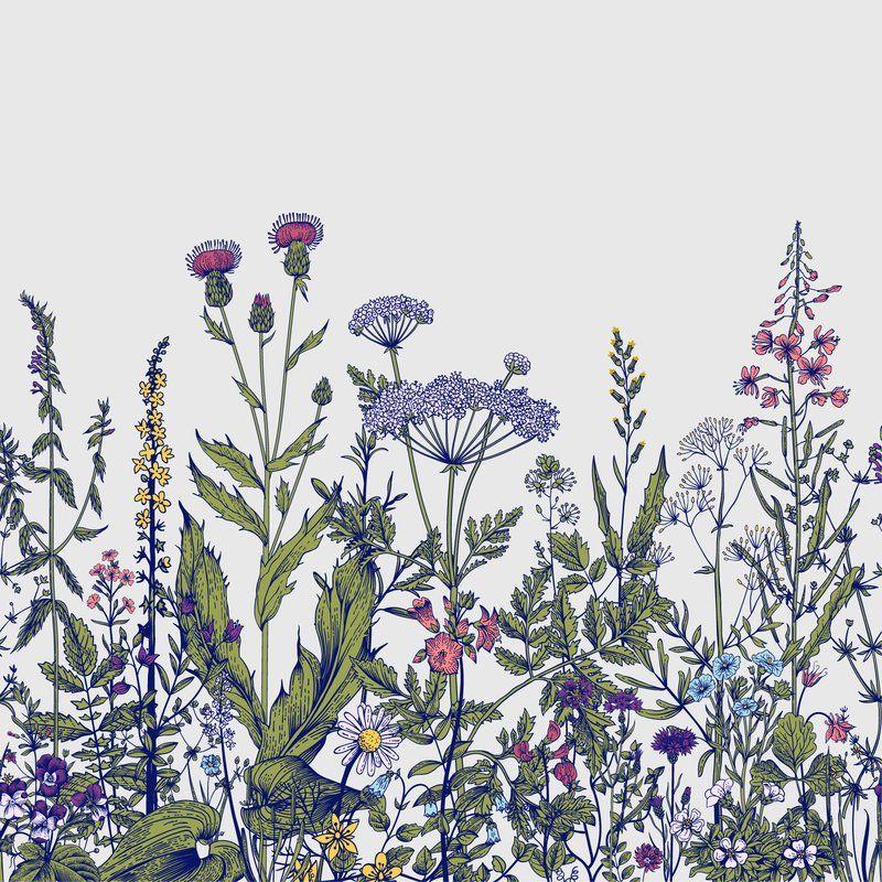 Linco Removable Field Prairie Flowers 4.17\' L x 50\
