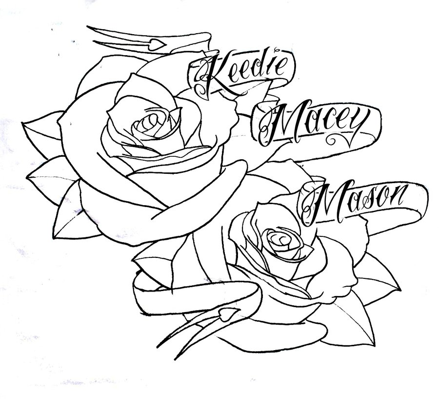 Hand Drawn Flower Clip Art.