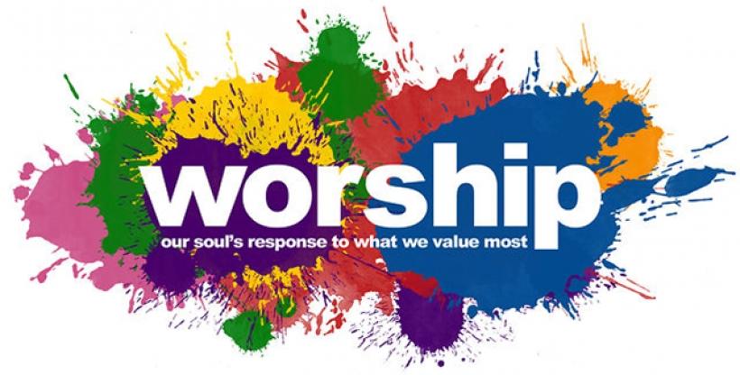 Worship Clipart.