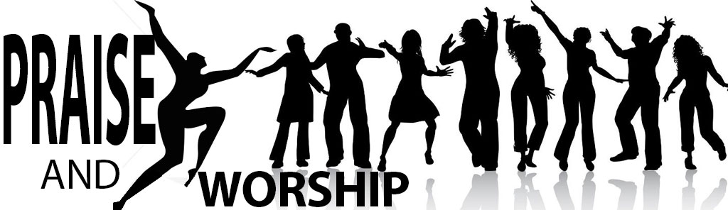 Praise and worship clipart images.