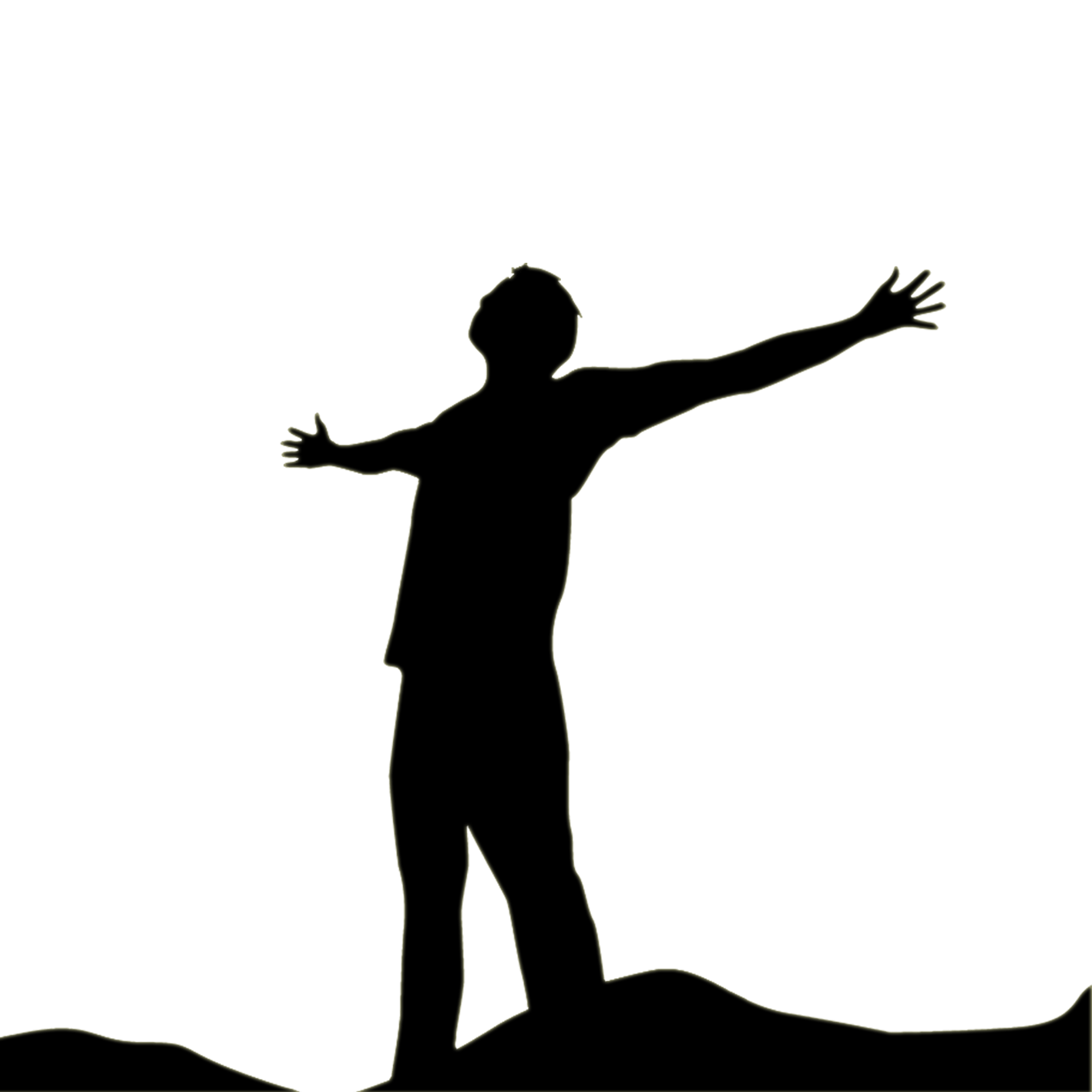 Free Praise Clipart Black And White, Download Free Clip Art.