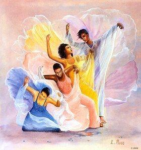 Christian Praise Dance Clip Art.
