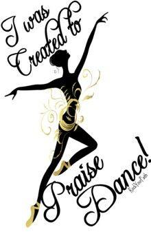 Praise dancing ….