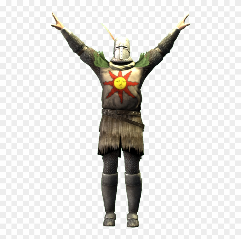 Solaire Praise The Sun, HD Png Download.