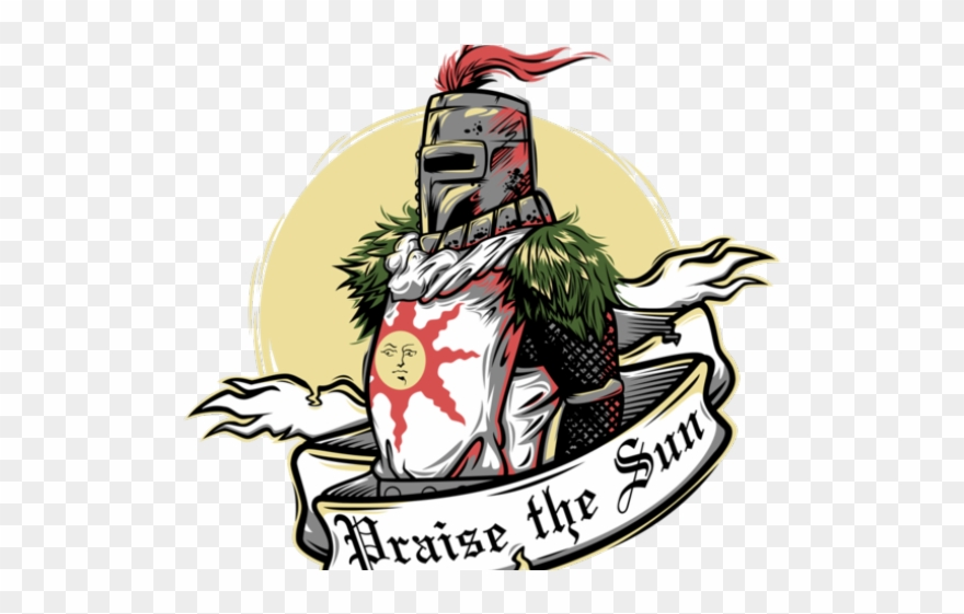 Dark Souls Clipart Praise The Son.