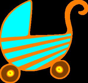 Baby Pram Clip Art at Clker.com.