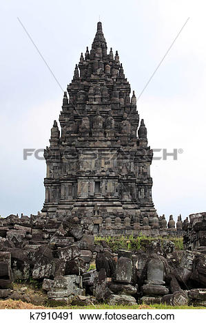 Stock Photography of Prambanan k7910491.