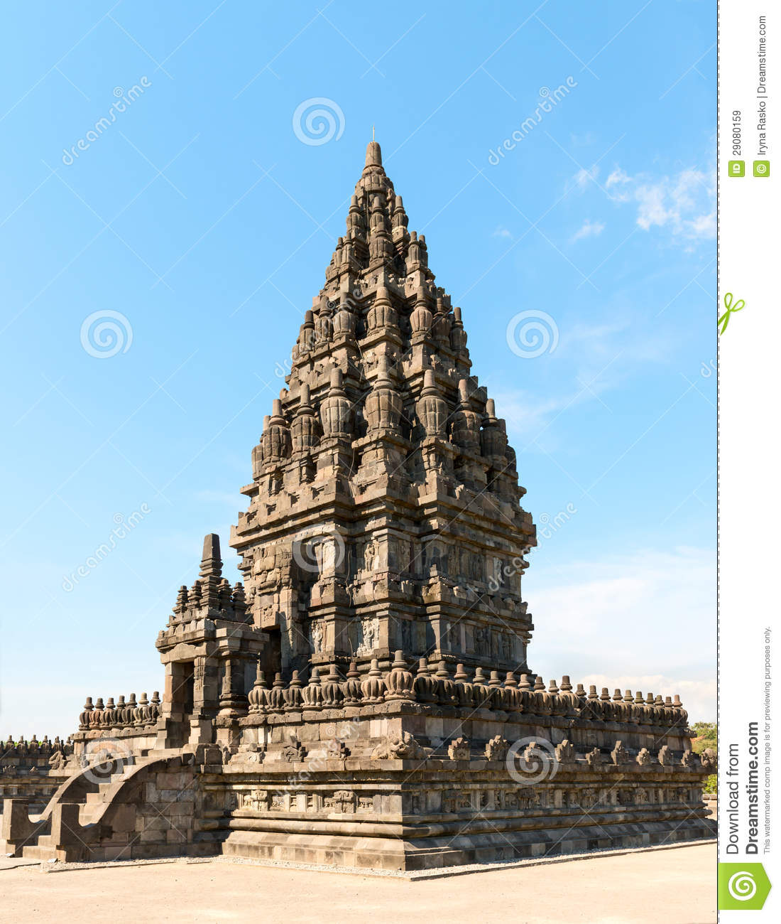 Vahana Temple In Prambanan, Java, Indonesia Royalty Free Stock.