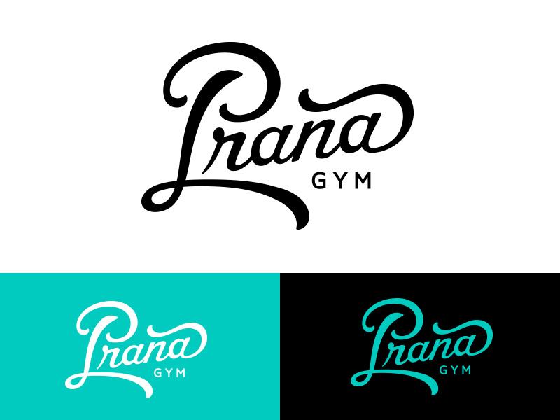 Prana Gym Logo by Brad Gattis on Dribbble.
