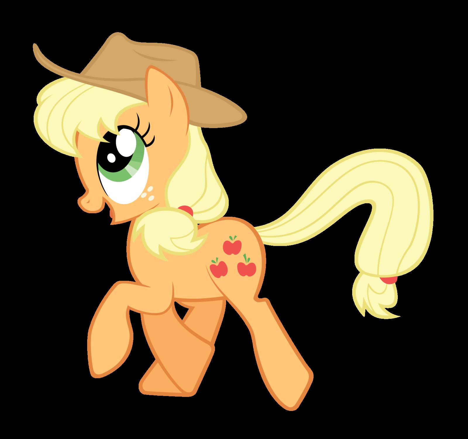 Applejack clipart.