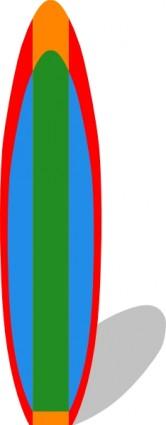 Clipart De Prancha De Surf.