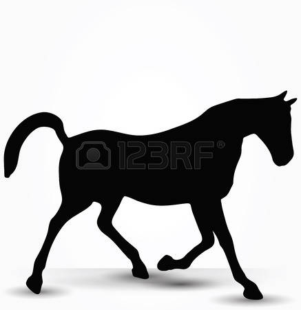 Prancing horse clipart #10
