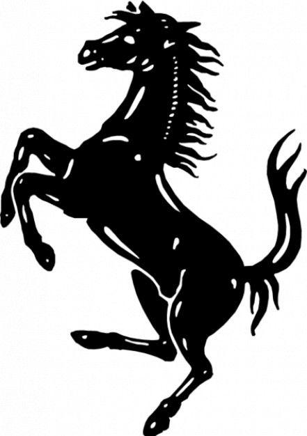 prancing horse.