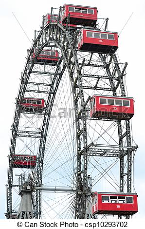 Stock Photography of Wiener Riesenrad in Prater csp10293702.