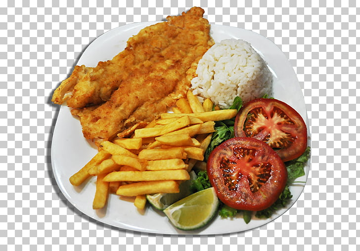 French fries Schnitzel Deep frying Veal Milanese Fish and.