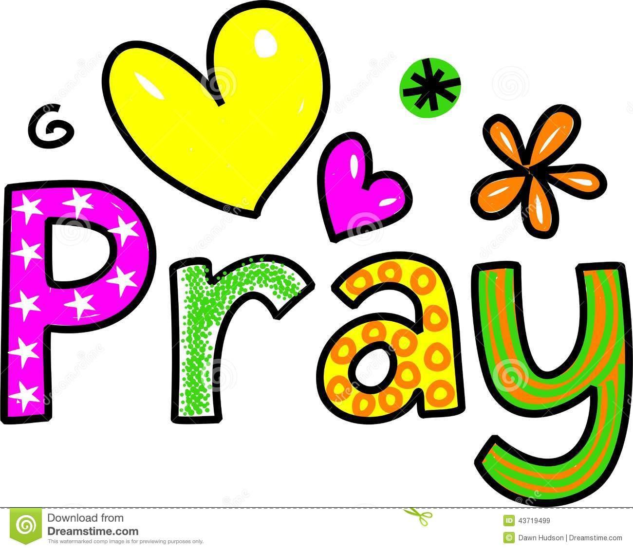 Clipart pray.
