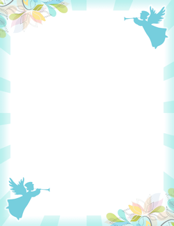 Prayer Border: Clip Art, Page Border, and Vector Graphics.
