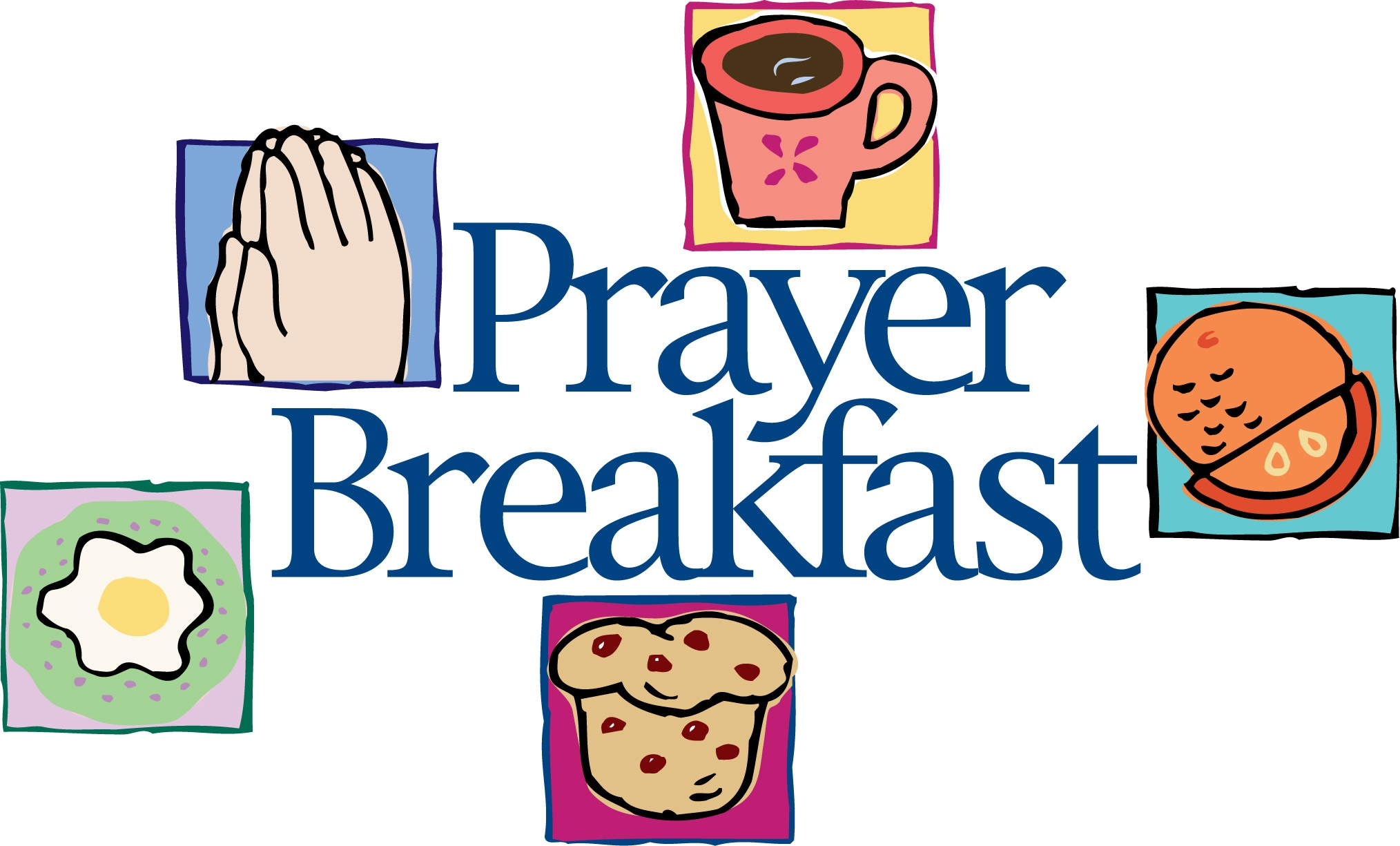 Prayer Breakfast Clipart.