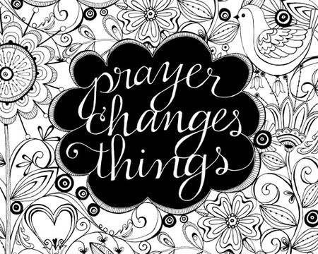 PRAYER CHANGES THINGS Quotes Like Success.