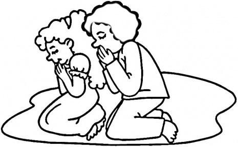 Prayer clipart black and white 1 » Clipart Portal.