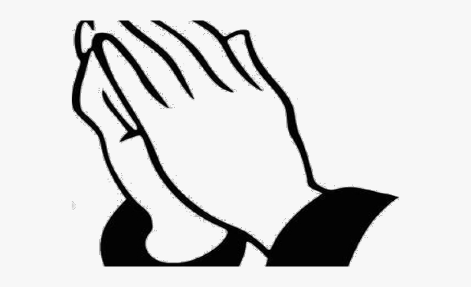 Prayer Hands Transparent Background, Cliparts & Cartoons.