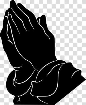 Praying Hands Prayer Man Silhouette , pray transparent.