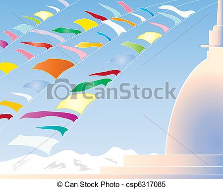 Prayer flag Illustrations and Stock Art. 506 Prayer flag.
