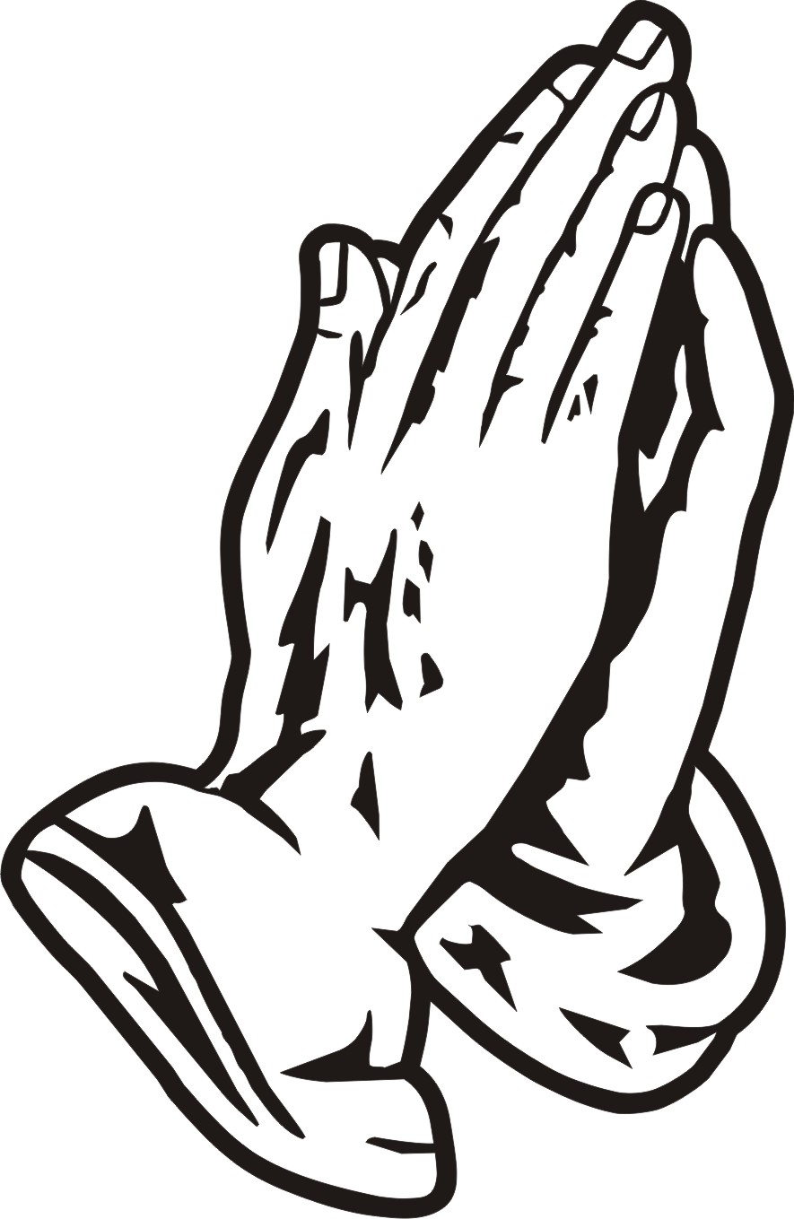 Free Clipart Praying Hands.