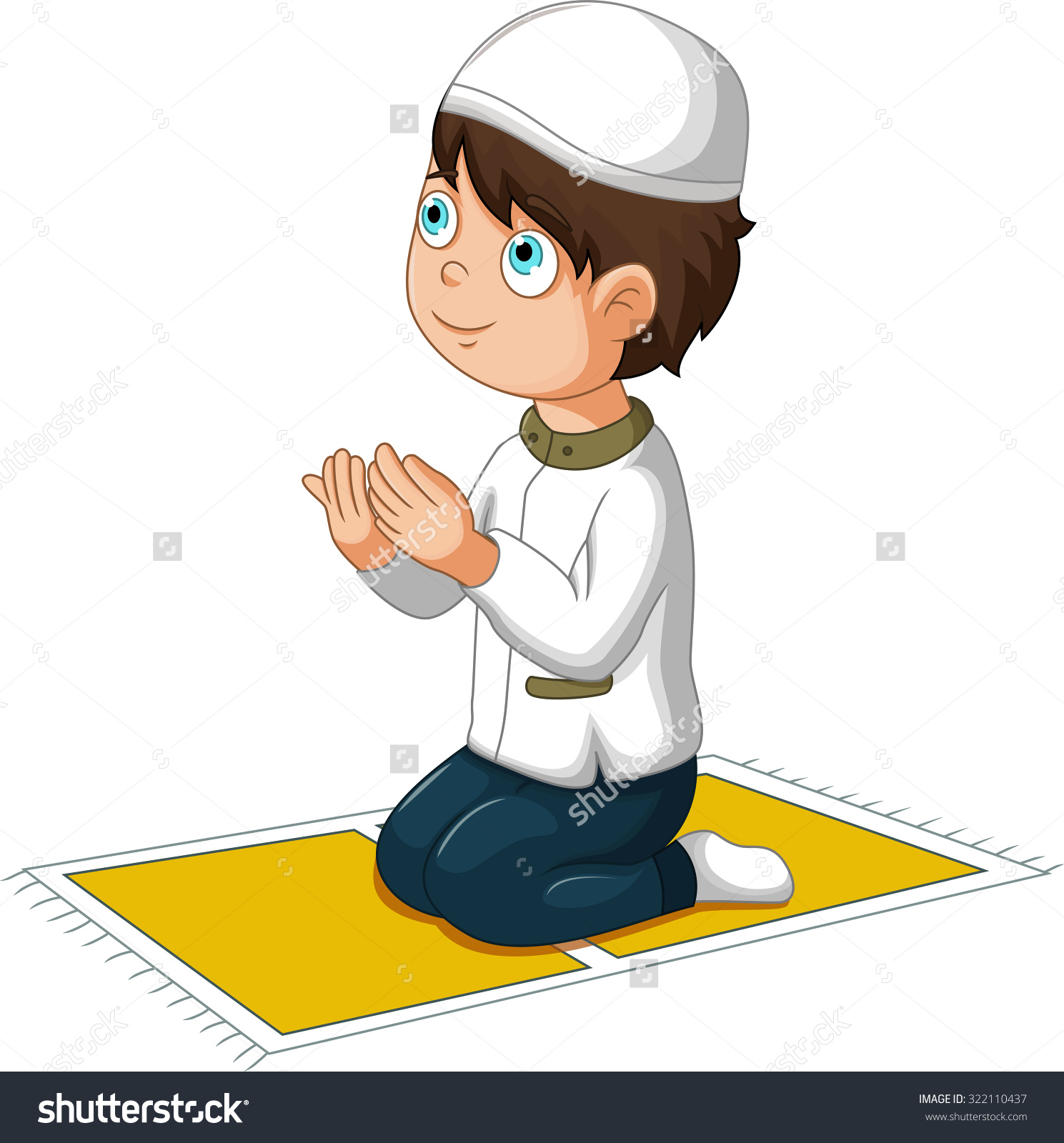 Get well prayer cartoons for kids clipart.