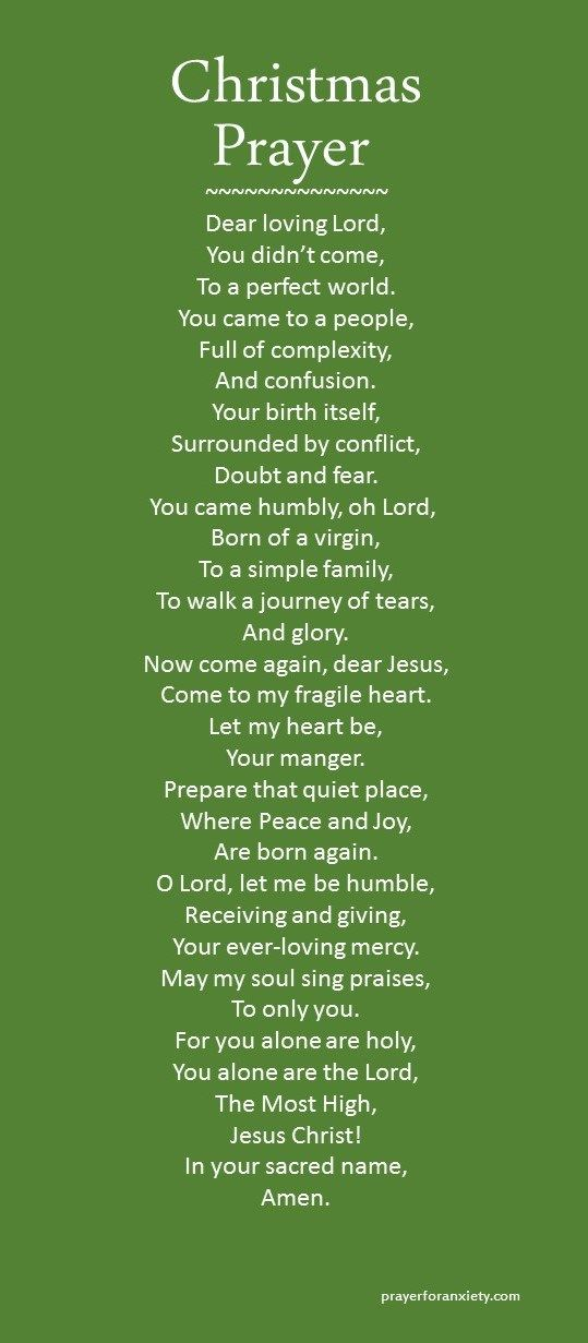 1000+ ideas about Christmas Prayer on Pinterest.