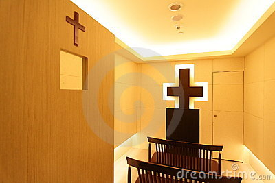 A Christian Prayer Room Stock Images.