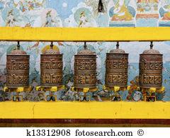 Prayer wheel Clipart and Stock Illustrations. 40 prayer wheel.