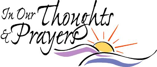 Healing Thoughts And Prayers Clipart.
