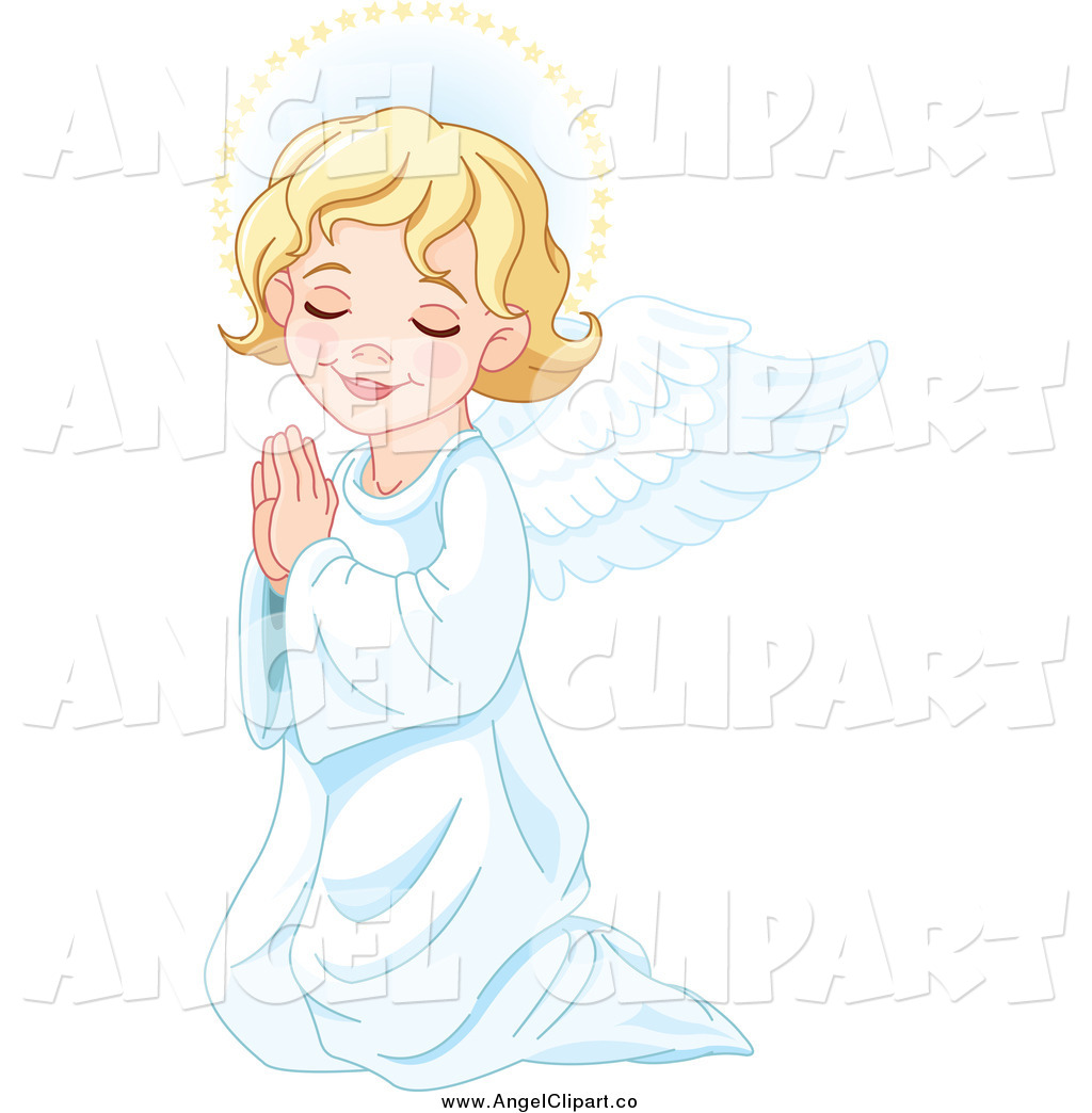 Royalty Free Pray Stock Angel Designs.