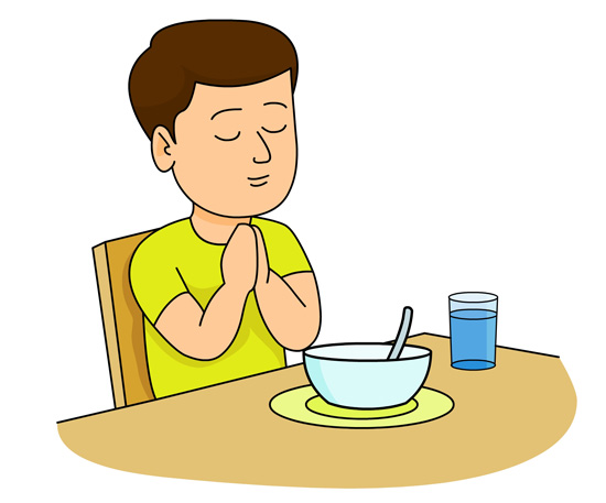 Praying Clipart.