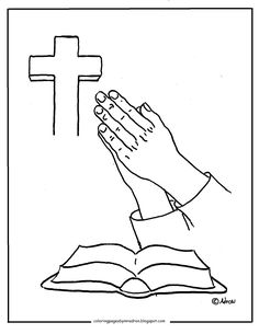 Praying hands and bible clipart 1 » Clipart Station.