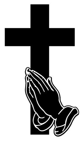 Praying hands with cross clipart » Clipart Portal.