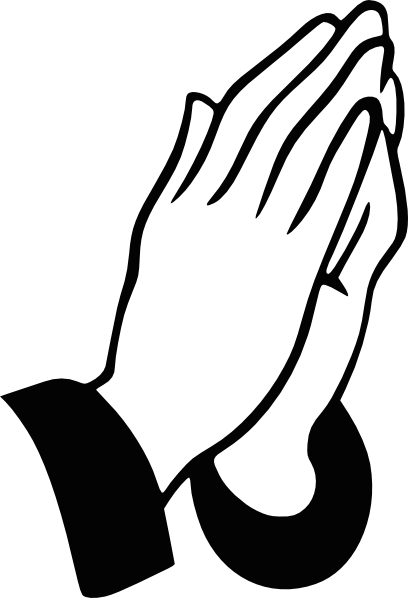 Praying Hands Rt Clip Art at Clker.com.
