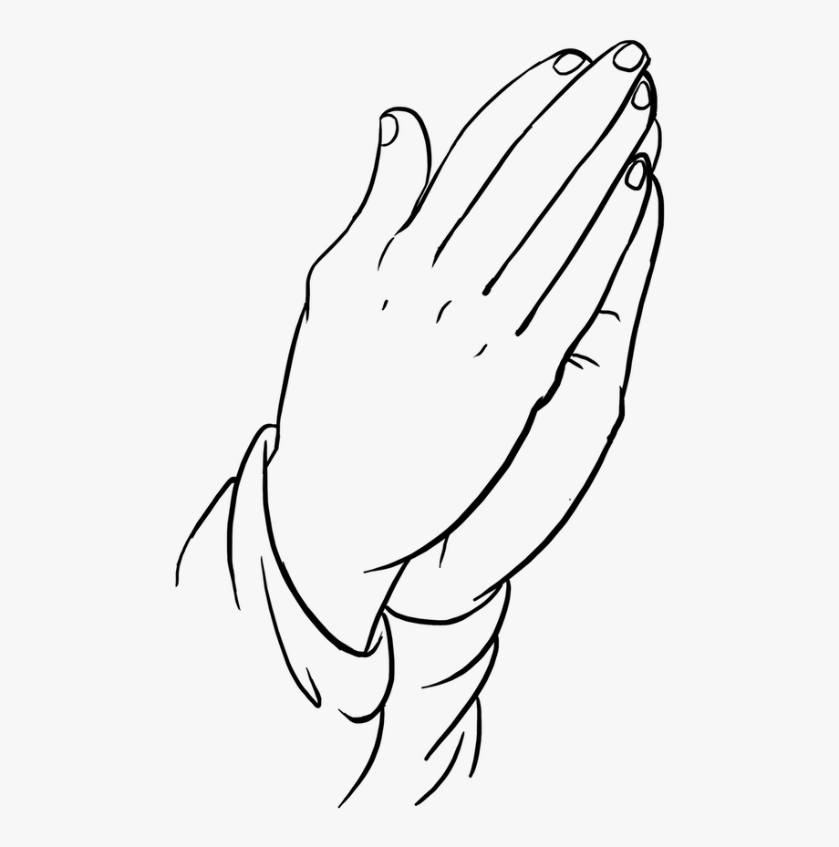 How To Draw Praying Hands For Kids Step By Step.